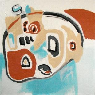 Explorer, 20 x 20, acrylic on canvas