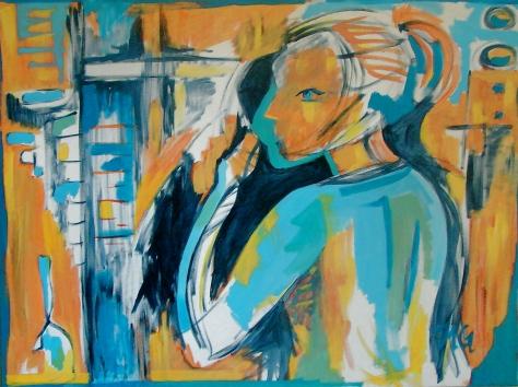 Secret, 30 x 40, acrylic on canvas