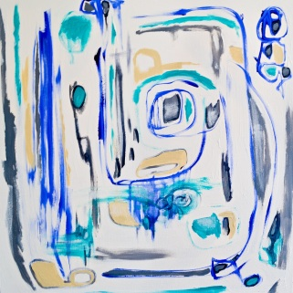The Way Home, 30 x 30, acrylic on canvas