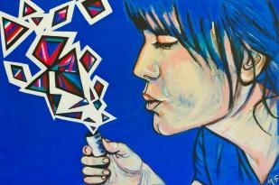 Alter, 24 x 36, acrylic on canvas