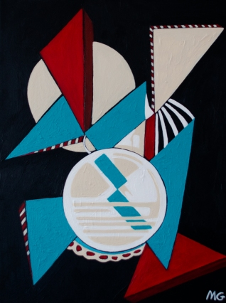 French Pop, 18 x 24, acrylic on canvas